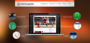 Header cabecera Demo-Sports